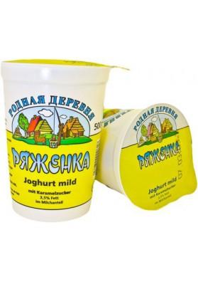 Yogur suave con azucar de caramelo 3.5% grasa 12x500gr RD