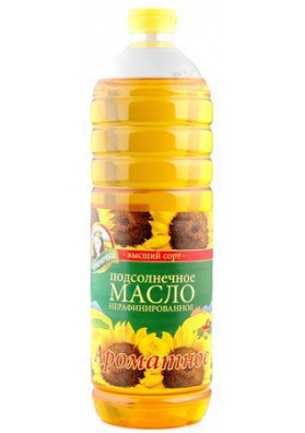 Aceite de girasol  AROMATNOE 1L KUBANOCHKA