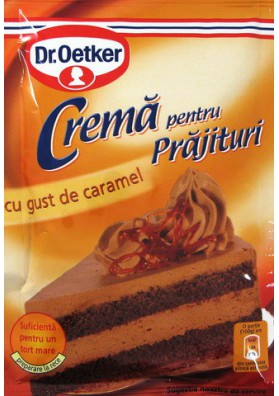 Creme para tarta sabor caramelo 55gr Dr.Oetker