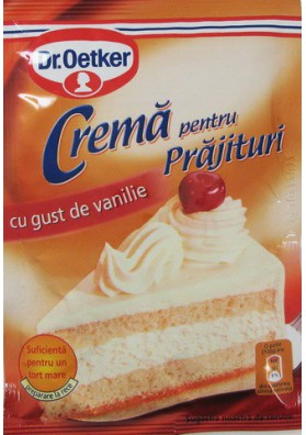 Crema para tarta sabor vanilla 50gr Dr.Oetker
