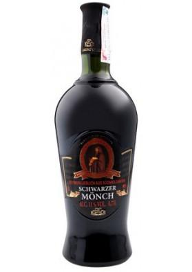 Vino tinto semidulceCHERNIY MONAH 11%alk.0.75L GARLING