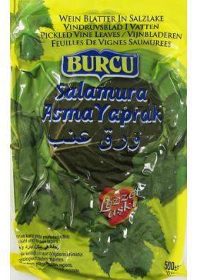 Hojas de uva en paquete 500gr BURCU