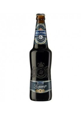 Cerveza BALTIKA 6 PORTER 7.0%alc 20x0.47L