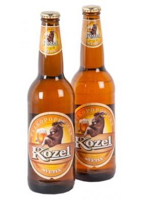 Cerveza KOZEL claro 4.0%alk. 20x0.5L