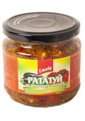 Pisto mediterraneo con verduras asadasRATATUY 12x350gr EMELYA