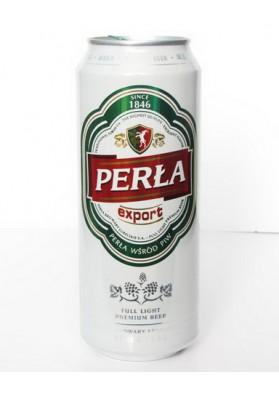 Cerveza PERLA EXPORT lata 5.6%alc. 24x500ml