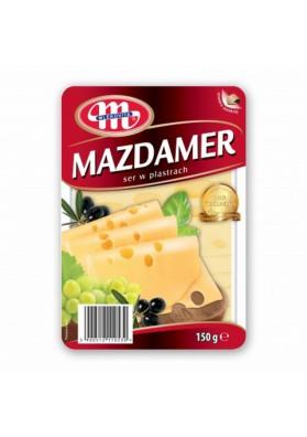 Сыр нарезкаМАЗДАМЕР 150гр MLEKOVITA