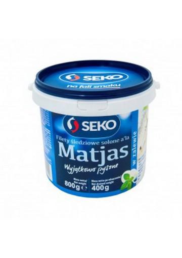 Filete de arenque saladoMATJAS 6x800gr SEKO