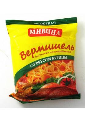 Вермишель МИВИНА со вкусом курицы 50гр LT
