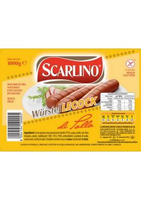 SCARLINO Salchichas LECOCK 10x1000gr