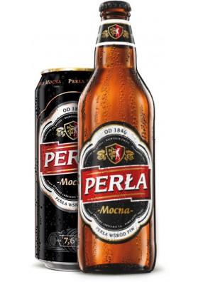 Cerveza PERLA MOCNA 7.6%alc. 20x500ml