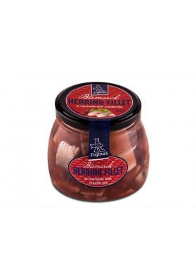 Filete de arenque marinado con arandano 6x560gr ZIGMAS