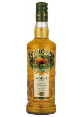 Vodka  ZUBROWKA BROTES DE PINO  37.5%alc.500ml