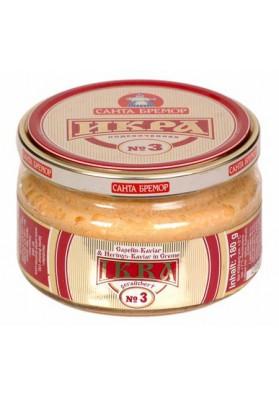 Caviar de capelan ahumado Nº3 6x180gr SANTA BREMOR