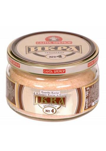 Caviar de bacalao i boquerones Nº4 6x180gr SANTA BREMOR