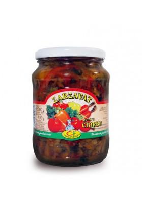 Sopa de verduras ZARZAVAT DE CIORBE 6x700gr CONSERVFRUCT
