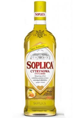 Licor SOPLICA con sabor de limon con miel 30%alc  500ml CEDC