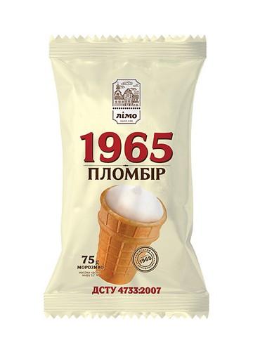 Helado PLOMBIR 1965 30x75gr LIMO