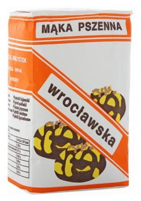 Harina de trigo  WROCLAWSKA 10x1kg PZZ BIALYSTOK