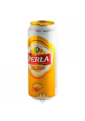 Cerveza  PERLA DE MIEL 6%alc.24x0.5L lata