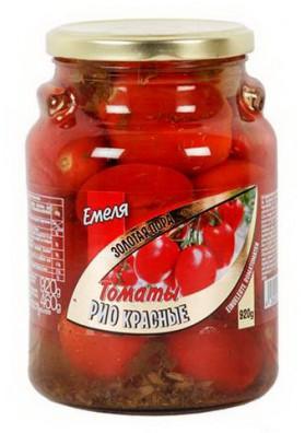 Tomate RIO ROJO  ZOLOTAYA PORA 6x920gr EMELYA