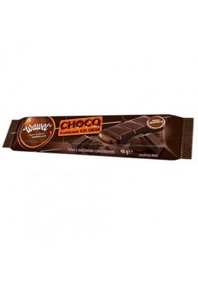 Barrita de chocolate rellena de choco 30x48gr WAWEL
