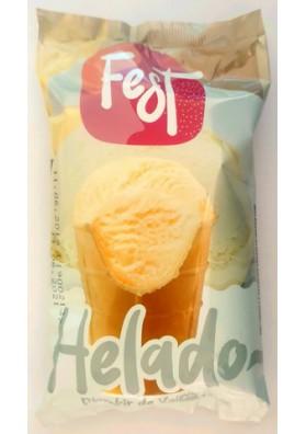 Helado de crema con sabor de vanilla 30x140ml FEST