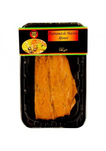 Filete (PASTRAMA) de caballa ahumado enpaquetado 140gr NEGRO 2000