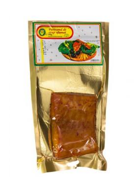 Filete (PASTRAMA de carpa ahumado enpaquetado 140gr NEGRO 2000