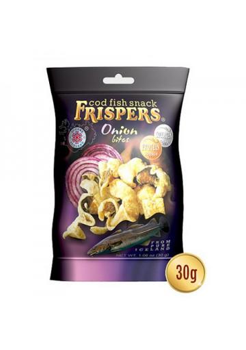 Snack de bacalao con sabor de cebolla 16x30gr FRISPERS