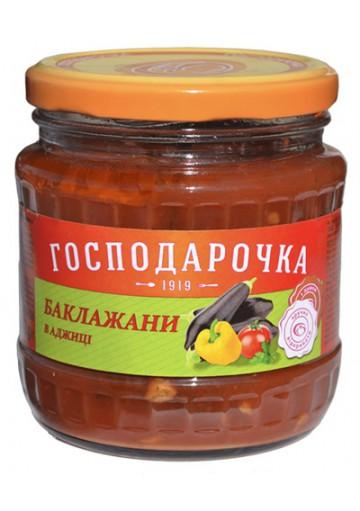 Berenjenas en salsa picante 12x400gr GOSPODAROCHKA