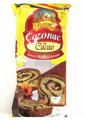 Bizcocho de cacao  COZONAC  8x500gr BOROMIR ROM.