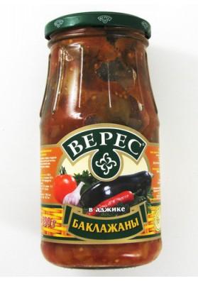 Berenjena en salsa picante 12x530gr VERES