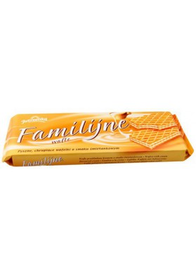 Barquillos sabor nata 12x180gr FAMILY