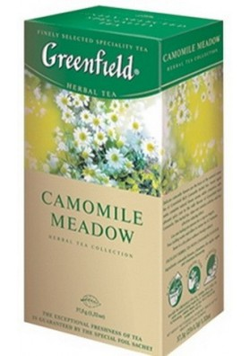 Te Greenfield  CAMOMILE MEADOW 25x1.5gr