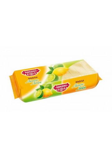 Barquillos sabor limon  300gr YASHKINO