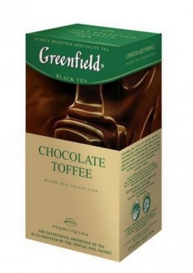 Te Greenfield  CHOCOLATE TOFFEE 25x1.5gr