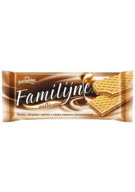 Вафли со вкусом какао 180гр FAMILY
