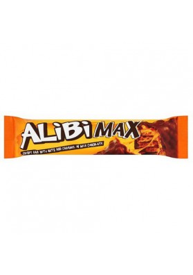 Barquillos en chocolate con caramelo y nuez  ALIBI MAX 32x49gr JUTRZENKA