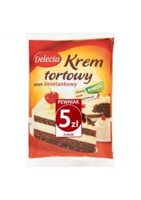 Crema para tarta sabor nata 110gr DELECTA
