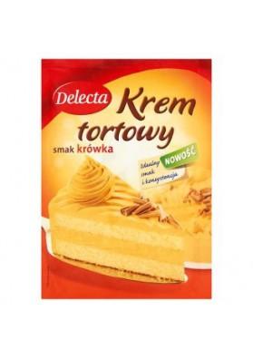 Crema para tarta sabor caramelo  KROWKA 110gr DELECTA