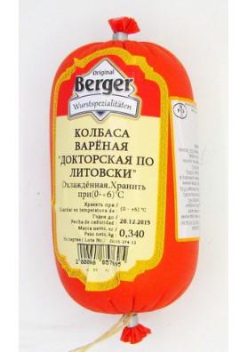 BERGER Mortadela  DOKTORSKAYA PO-LITOVSKI 340gr