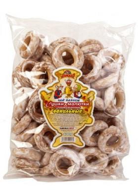 Rosquillas mini glaseado sabor vanilla 14x400gr CHAY VDVOEM