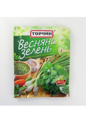 Приправа  ВЕСЕННЯЯ ЗЕЛЕНЬ 10х25гр ТОРЧИН