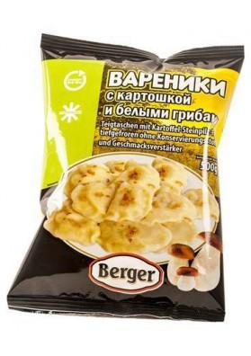Vareniki con patata y boletos 12x500gr BERGER