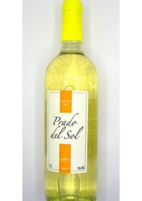 Vino blanco seco  PRADO DEL SOL  Sauvignon 12%alc. 6x0.75L