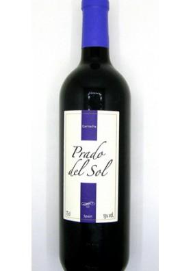 Vino tinto seco  PRADO DEL SOL  Garnacha 13%alc. 6x0.75L