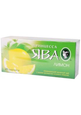 Te verde Princessa Java con limon 25x1.5gr
