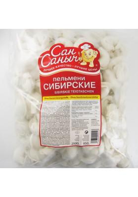 Pelmeni  SIBIRSKIE SAN SANICH 2kg  ALEXANDER