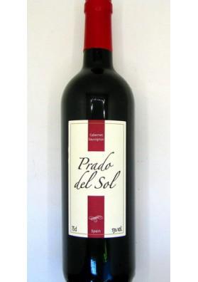 Vino tinto secoPRADO DEL SOL Caberne Sauvignon 13%alc. 6x0.75L